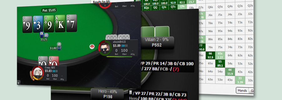 phần mềm và cộng cụ poker cần thiết
