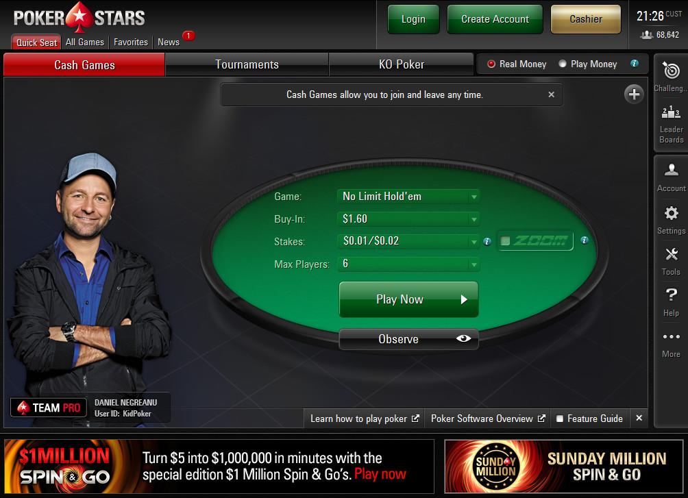 Hình ảnh PokerStars 1