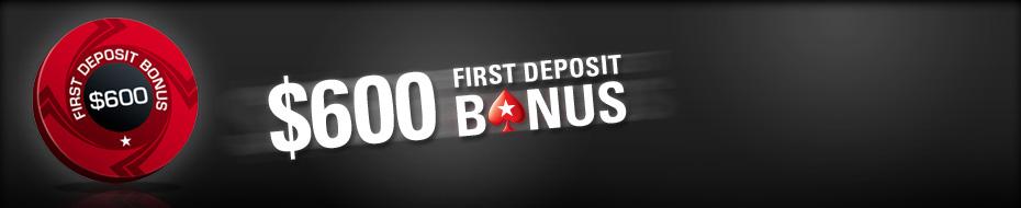 Khuyến mại 100% tại PokerStars
