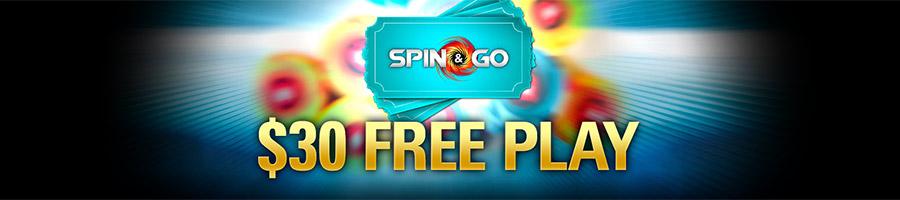 Khuyến mại 30$ Free Play tại PokerStars